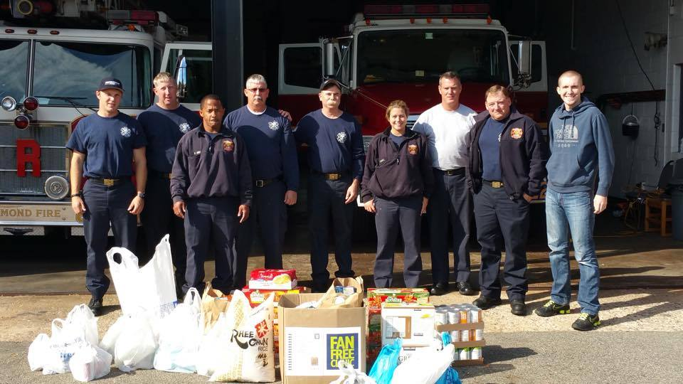 2014 Hunger Flames Food Drive
