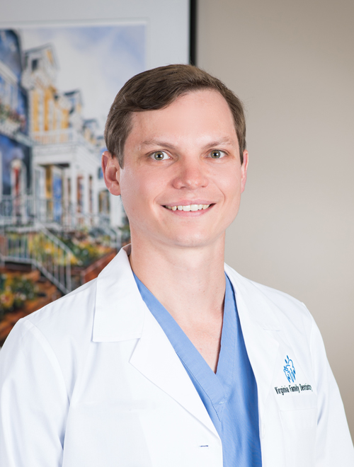 Ethan Puryear, DDS, MSD, Pediatric Dentist at Virginia Family Dentistry Huguenot and Ironbridge